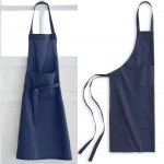 Dark Blue Adult cotton apron