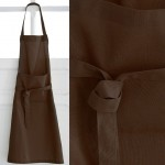Brown Adult cotton apron