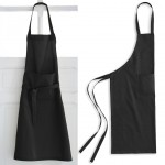 Black Adult cotton apron