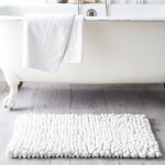 Cotton Bath Mat 50 x 80 cm - Chantilly