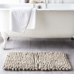 Cotton Bath Mat 50 x 80 cm - Mastic