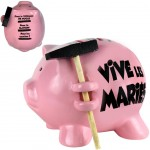 Piggy bank with a small hammer - Vive les Mariés