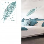 Wall Stickers Indian Style - Feather