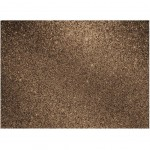 Glitter adhesive roll 45 x 150 cm - Iced brown