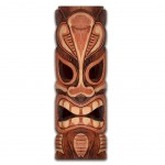 Wooden wall decoration 60 x 20 cm - Tahitian theme