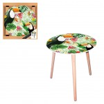 Toucan round side table