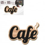 Decorative wooden plate Coffee 30 x 22 cm
