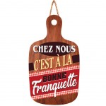 Wooden wall decoration to hang - Bonne Franquette