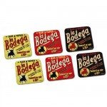 Bodega Set of 6 coasters