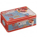 Retro Sugar Tin Box