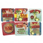 Mojito Cuba Set of 6 coasters