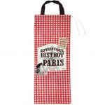 Retro Paris bread bag