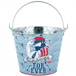 Metal Beer Bucket - Tattooed Sailor