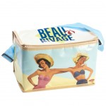 Rétro Small cool bag lunch box 24 x 15 x 15 cm