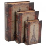 Set of 3 boxes Paper Paris.