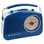 Radio 60&#39s Blue with bluetooth