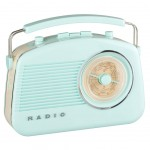 Radio 60's Light Blue with bluetooth