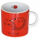 Happy Colors Energy Red Small mug