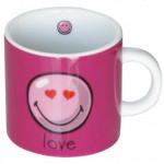 Happy Colors Love Pink Small mug