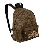 California USA Brown backpack