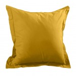 Pillow case 65 x 65 cm - Mustard yellow