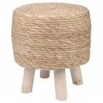 Wood and Herbs Cyprus Stool