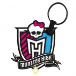 Monster High Logo led Keyring