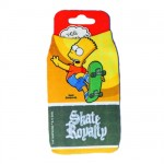 Bart Simpsons Skate mobile sock
