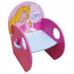 Disney Princesses Aurora wood armchair