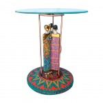 MASSAI round side table