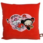 Pucca Velvet Cushion