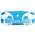 Marseille blue triangular pencil case