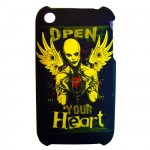 Open Your Heart Phone Cover for Iphone 3G 3GS