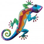 Salamander wall decoration 29 cm