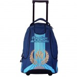 Olympique de Marseille Large backpack with wheels