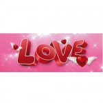 Bookmark Lenticular Love