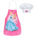 Disney Princess apron and chef hat