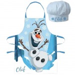 Olaf apron and chef hat