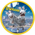 The Raving Rabbits clock