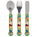 Jake and the Never Land Pirates toddler flatware set