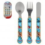 Planes toddler flatware set