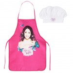 Violetta apron and chef hat