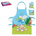 The Smurfs Apron, Pot holder and glove set