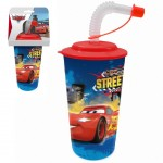 Cars Tumbler with Straw