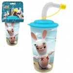 Raving Rabbits Tumbler with Straw