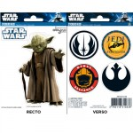 Star Wars Yoda stickers