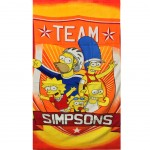 The simpsons Team Beach Towel