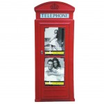 Little Londoner payphone Sticker photo frame