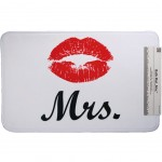 Mrs Mouth Bath Mat