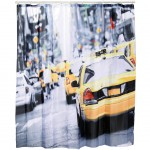 USA taxi shower curtain 180 x 180 cm